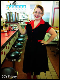 Borbor Ygmus Nunn waitress milk shakes 50s friday